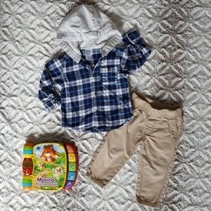 Carter's Shirts & Tops - Carter's Fall Outfit with a Surprise!